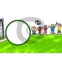 Einladungskarte Fußball mit Foto (ab 4 Stck.)