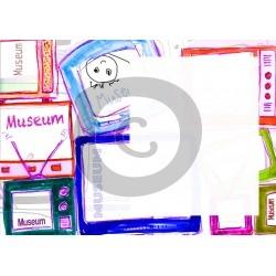 Einladungskarte Museum