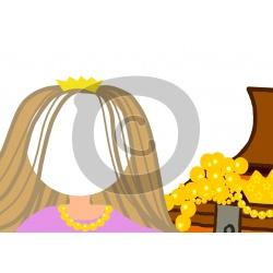 Einladungskarte Prinzessin mit Foto