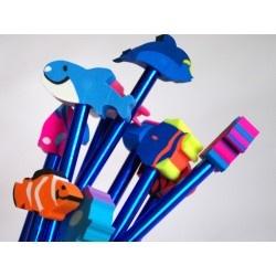 Bleistiftkappen Unterwasserwelt