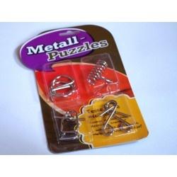 Puzzles aus Metall