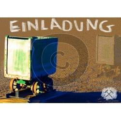 Einladungskarte Bergbau