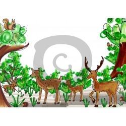 Einladungskarte Tierpark
